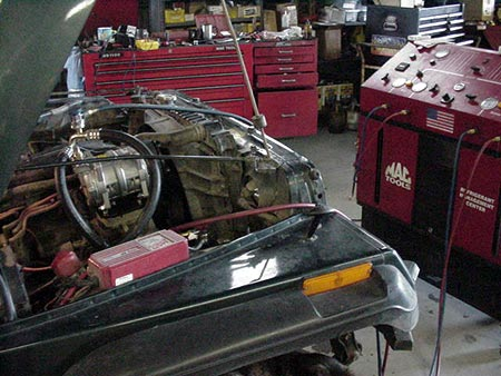 Mvc S on Jeep Clutch Installation