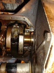 Rear main bearing journal