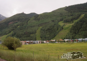 Heading in to Telluride